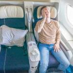 Startabbruch! Air France Business Class A380
