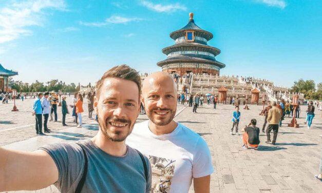 Unser erstes Mal Peking!