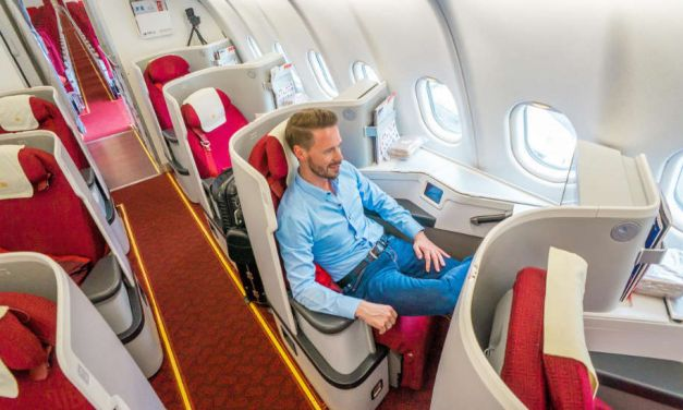 Hainan Airlines Business Class A330, Chinas 5 Star Airline