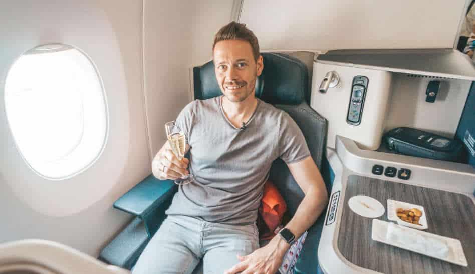 Hainan Airlines Business Class A350, wirklich 5 Sterne?