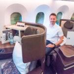 Die neue El Al Business Class in deren 787 Dreamliner