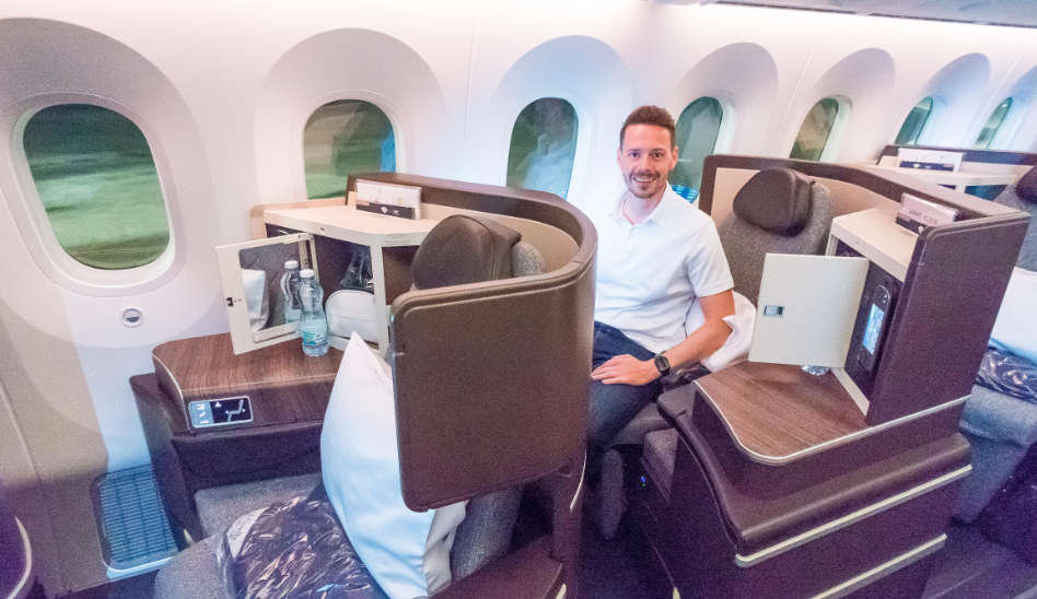 Die neue El Al Business Class in deren 787 Dreamliner