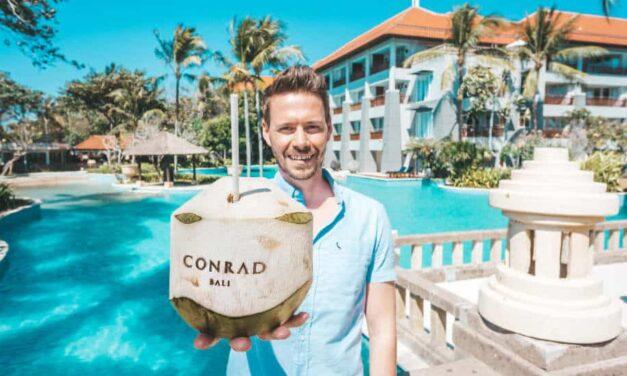 Das Conrad Bali – 5 Sterne Luxushotel direkt am Strand