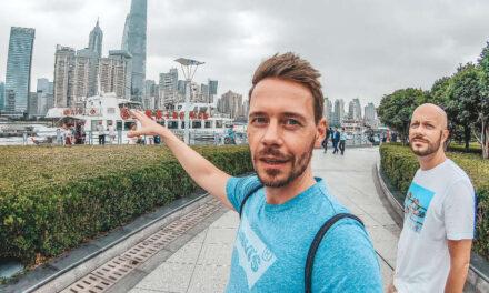 Auch in Shanghai nimmt uns kein Taxi mit!