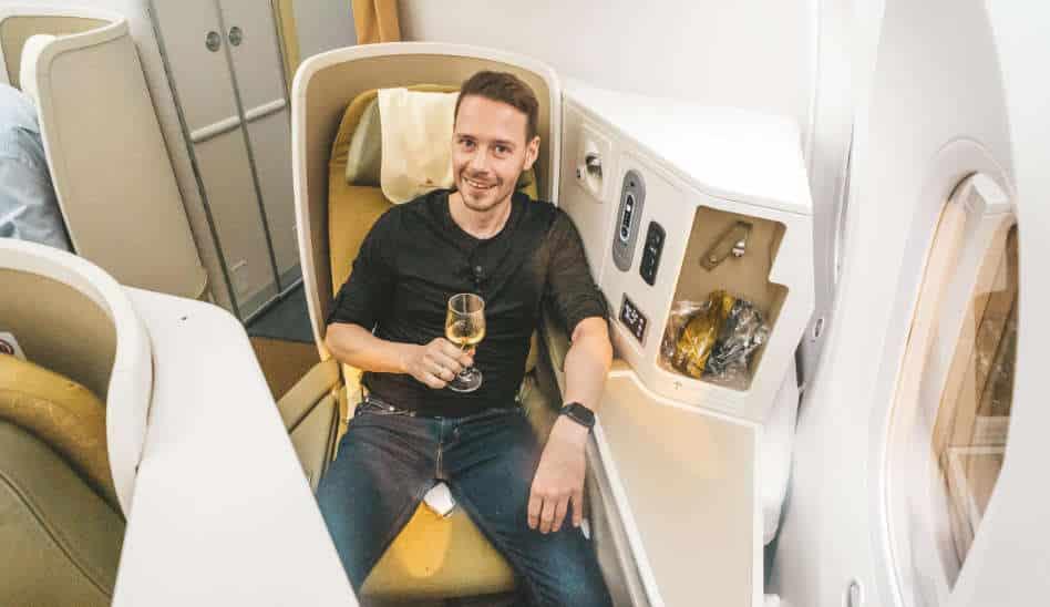Vietnam Airlines Business Class 787 Dreamliner