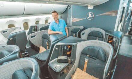 Die neue Turkish Airlines Business Class 787 auf Langstrecke