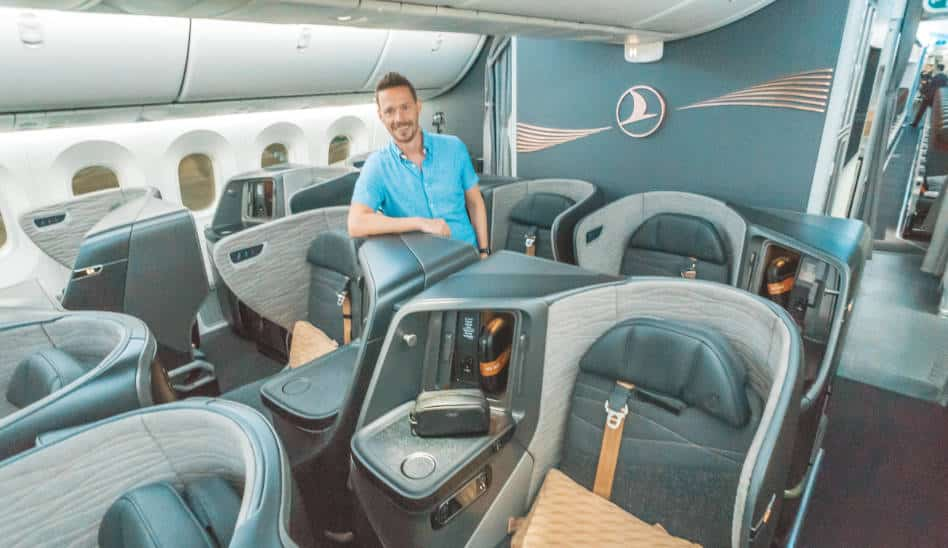 Die neue Turkish Airlines Business Class 787 auf Langstrecke