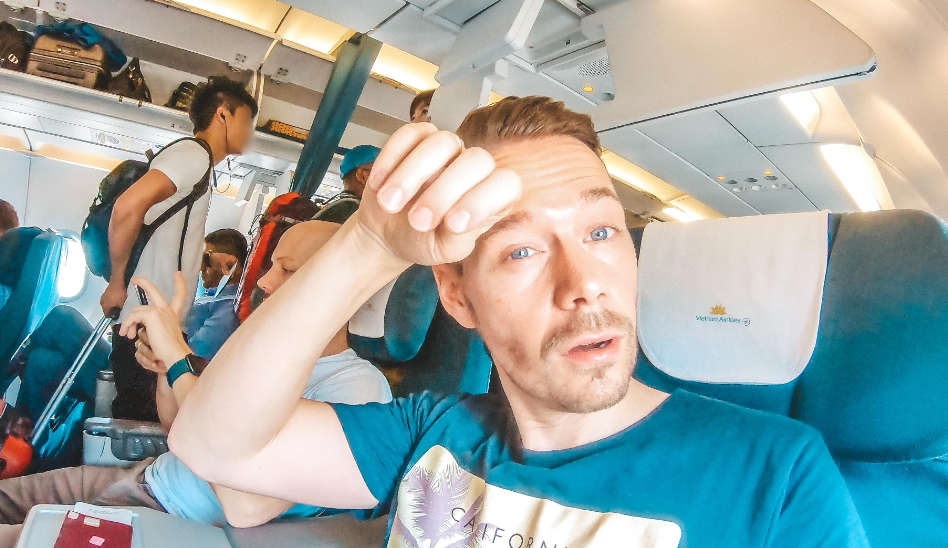 Heiß war es! Vietnam Airlines Business Class in der A321