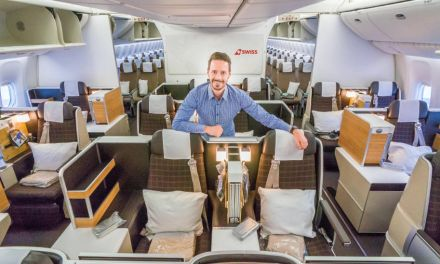 Nochmal SWISS Business Class auf Langstrecke in der 777