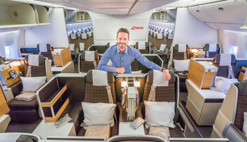 Nochmal SWISS Business Class auf Langstrecke in der 777