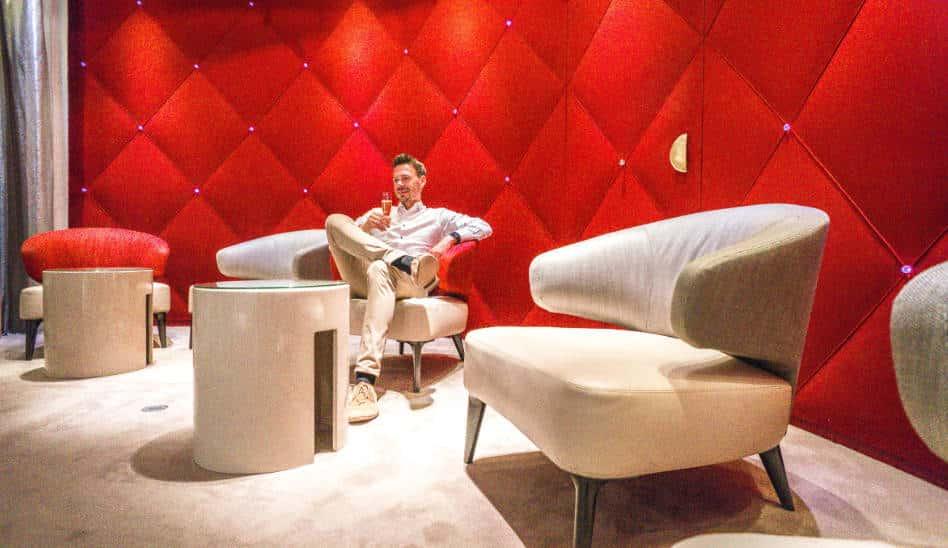 Absolute Spitze! Air France La Premiere Lounge Paris