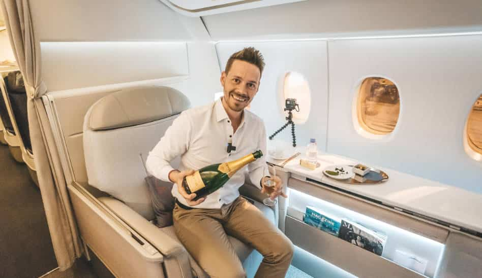 Weltweit beste First Class: Air France La Premiere