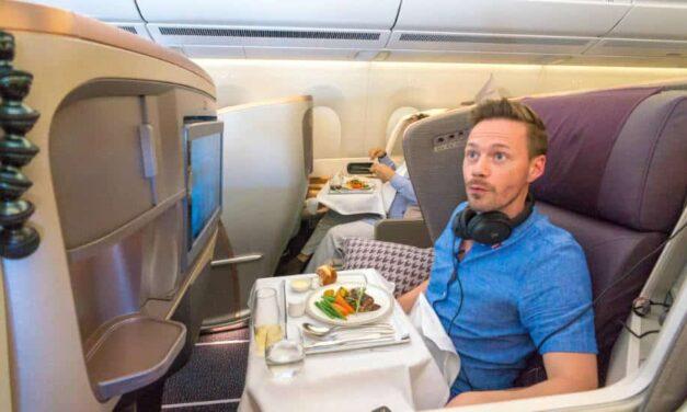 Der längste Nonstopflug der Welt in Business Class