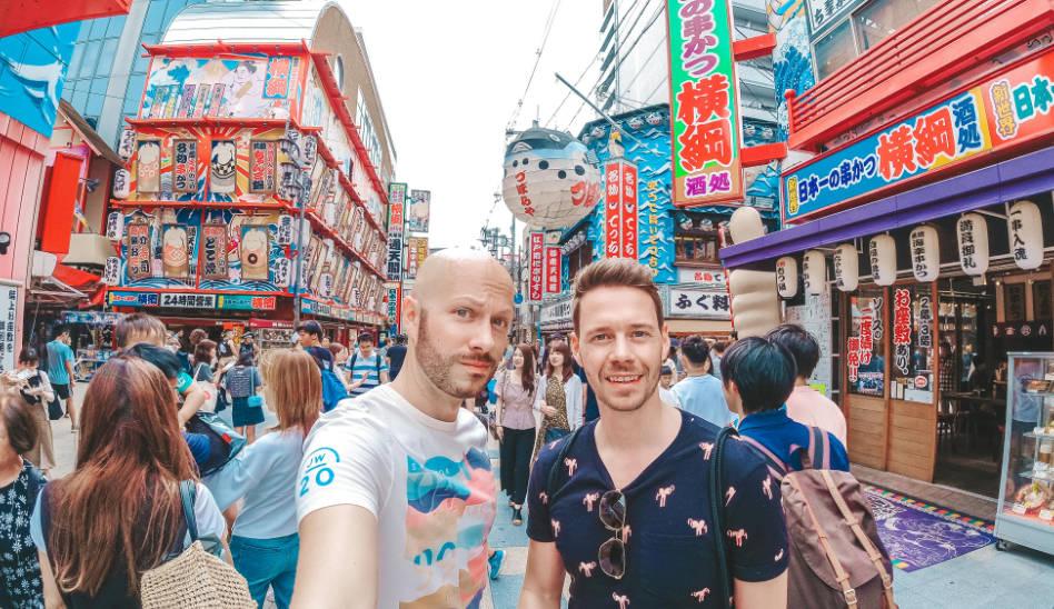 Ein Abstecher nach Osaka, zum aller ersten Mal