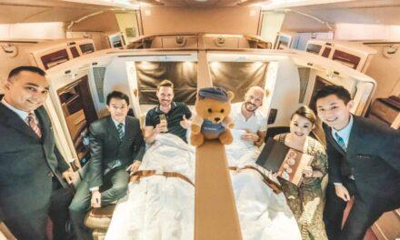 Singapore Airlines First Class Suites A380 (Vorgänger)