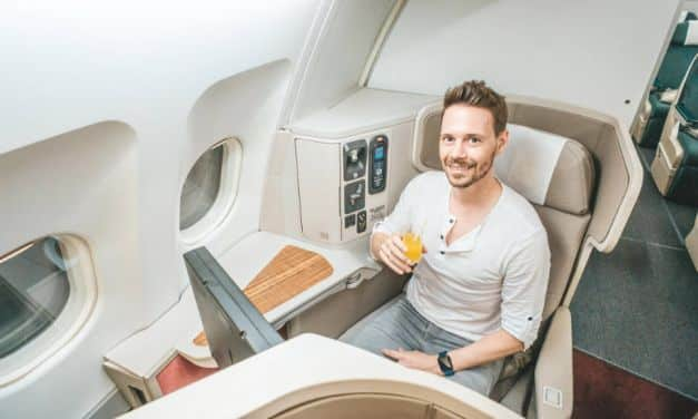 Cathay Dragon Business in First Class, da Downgrade