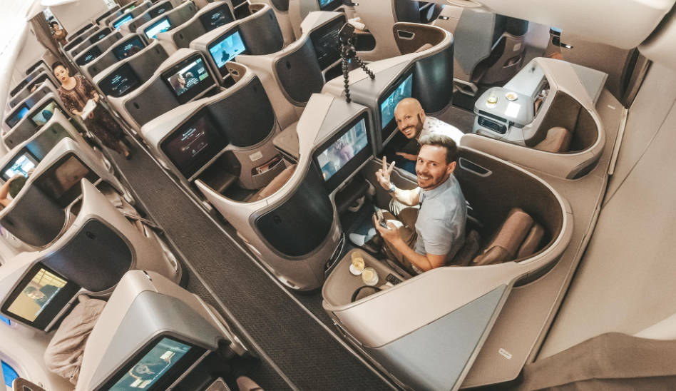 Singapore Airlines Business Class 787-10