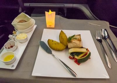 Turkish Airlines Business Class 787