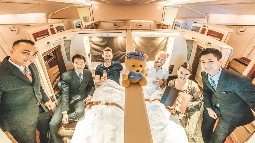 American Express Punkte für Singapore Airlines Suites einlösen