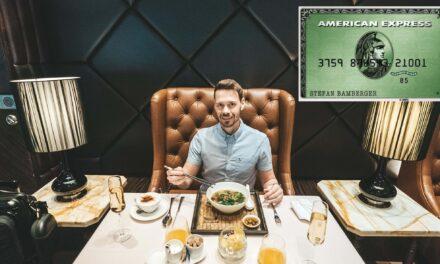 American Express Green, Punkte sammeln als Einstieg