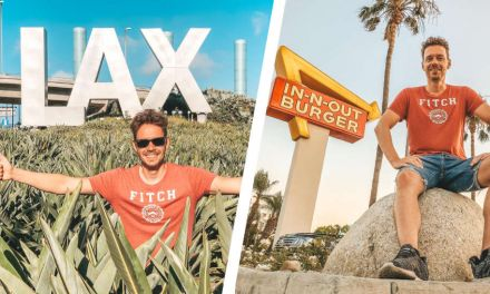 Los Angeles Airport mit In-N-Out Burger und Meet & Greet