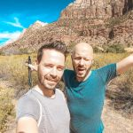 Zion Nationalpark endlich mal sonnig und kein Regen!