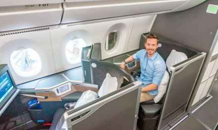 British Airways A350-1000 Club Suite Business Class