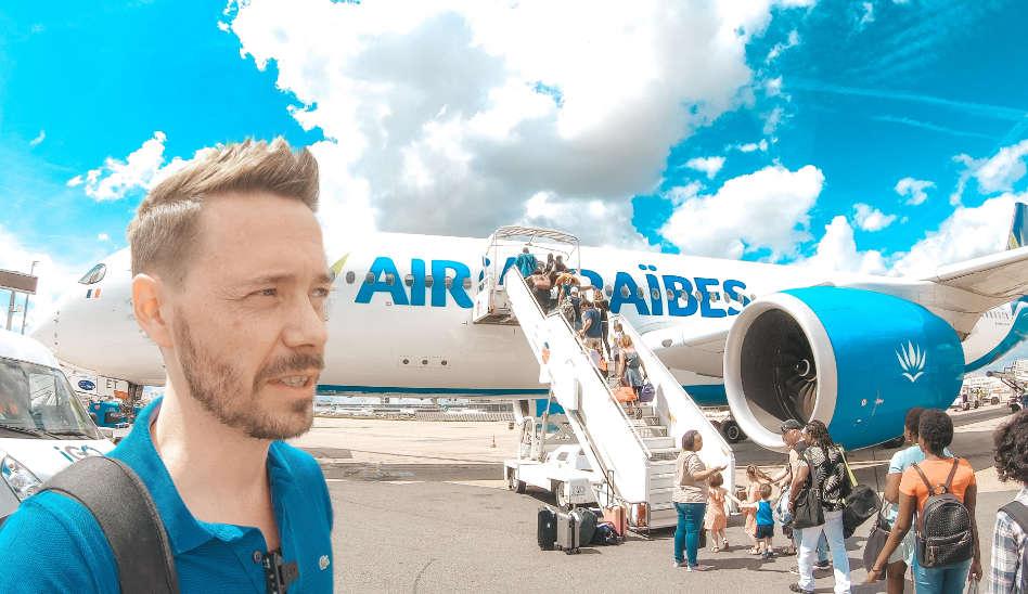 Europa Langstrecke! Air Caraibes Business Class A350
