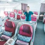 Alleine in der Qatar Business Class nach Doha (Stoppover Programm)