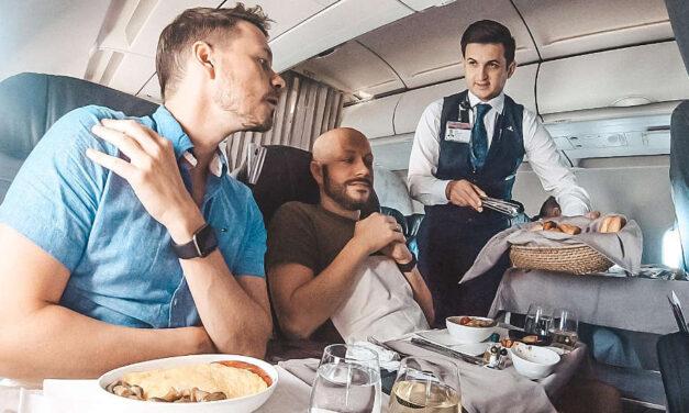 Vom neuen Istanbul Airport mit Turkish Airlines Business Class nach Hannover