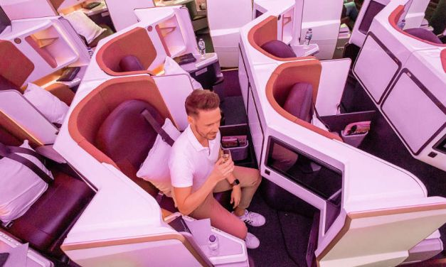 Virgin Atlantic A350 Business Class