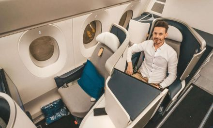 Air France A350 Business Class