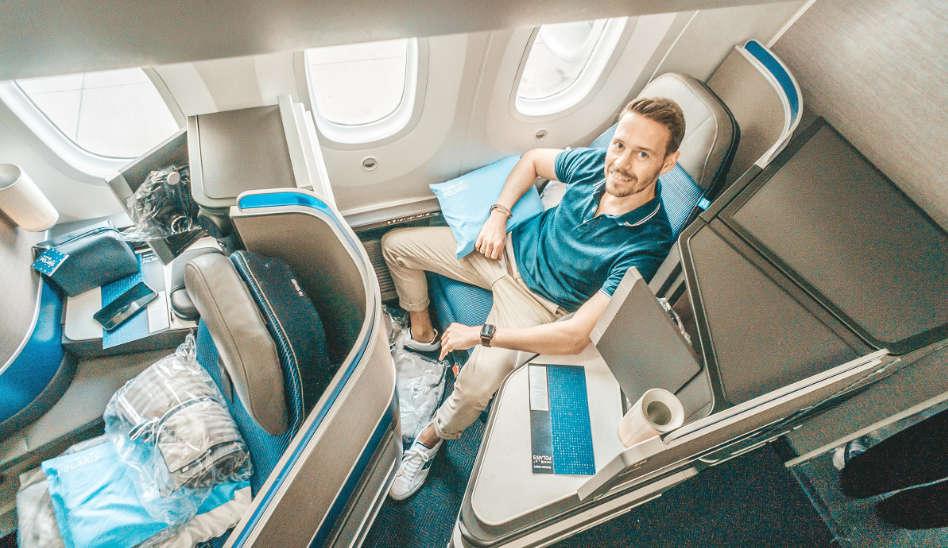 Die neue United Polaris in der 787-10 auf Langstrecke