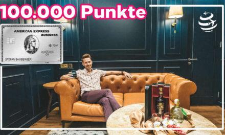 Amex Business Platinum Card – 100.000 Bonuspunkte
