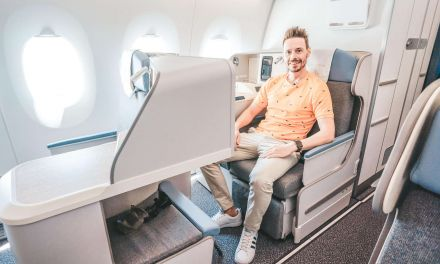 South African Airways Business Class A350
