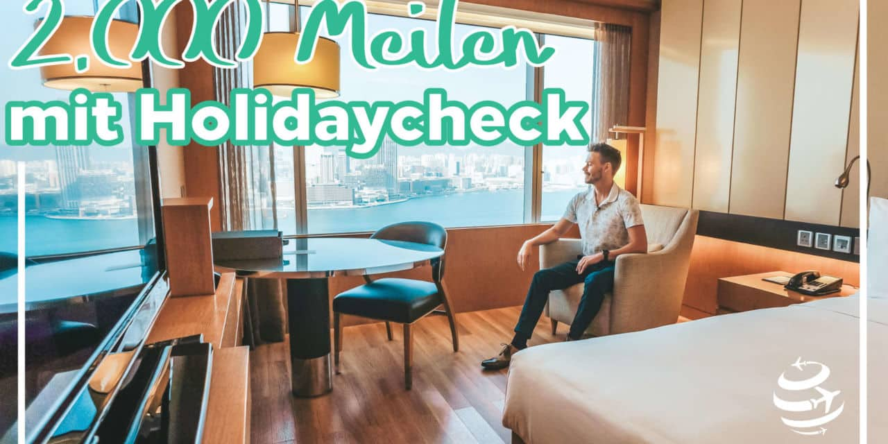 Miles & More Aktion – 2.000 Meilen mit Holidaycheck