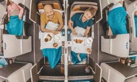 Oman Air Business Class, das neue Terminal & Lounge