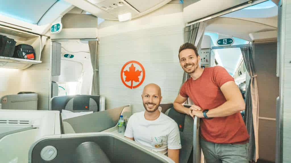 Air Canada Business Class 787-8