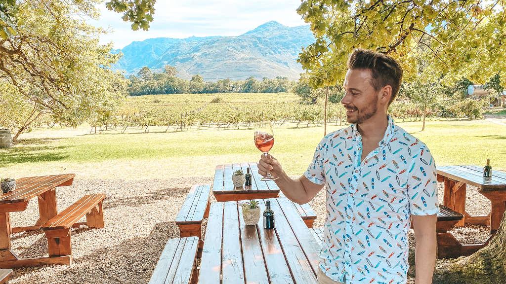 Winetasting in Stellenbosch, Franschhoek und drum herum