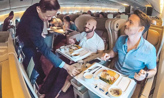 Singapore Airlines Business Class 777 Tripreport