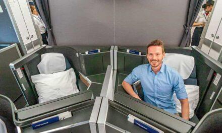 British Airways Club Suite A350-1000