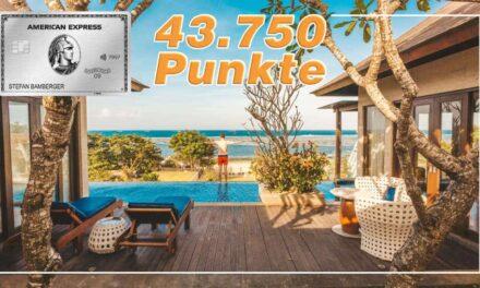 Bis zu 43.750 Punkte für American Express Platinum aus Kulanz