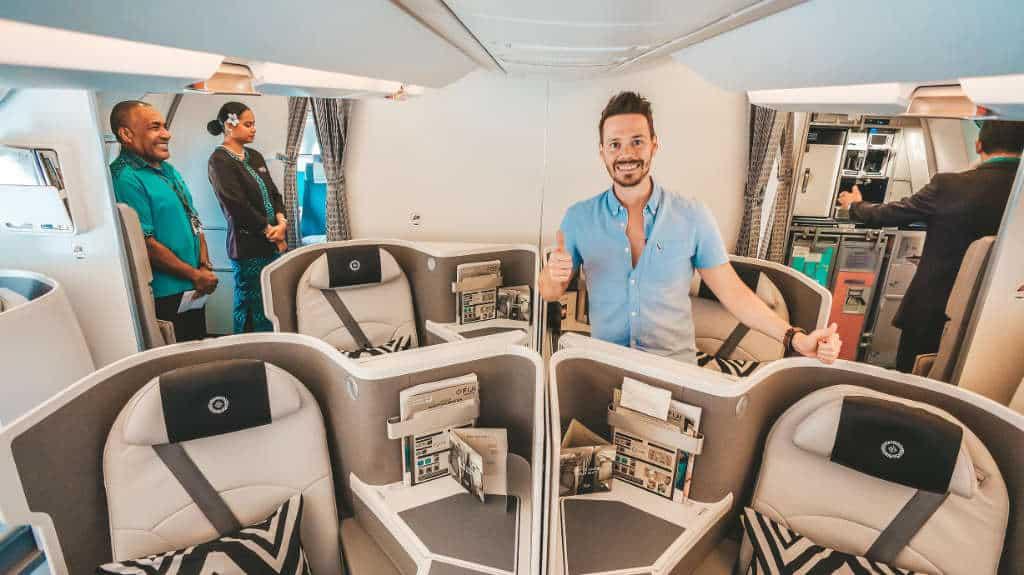 Herrlich! Fiji Airways Business Class A350