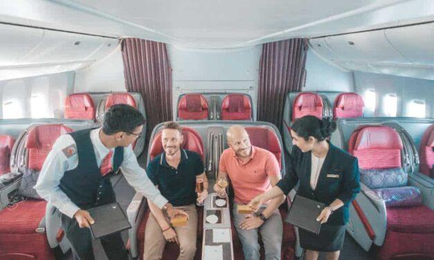 Ungeplante Überraschung bei Qatar Airways