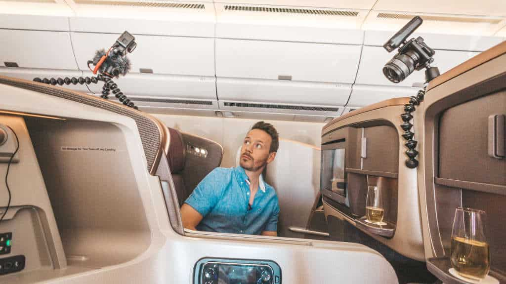 Singapore Airlines Business Class A350, 10 Stunden JNB-SIN