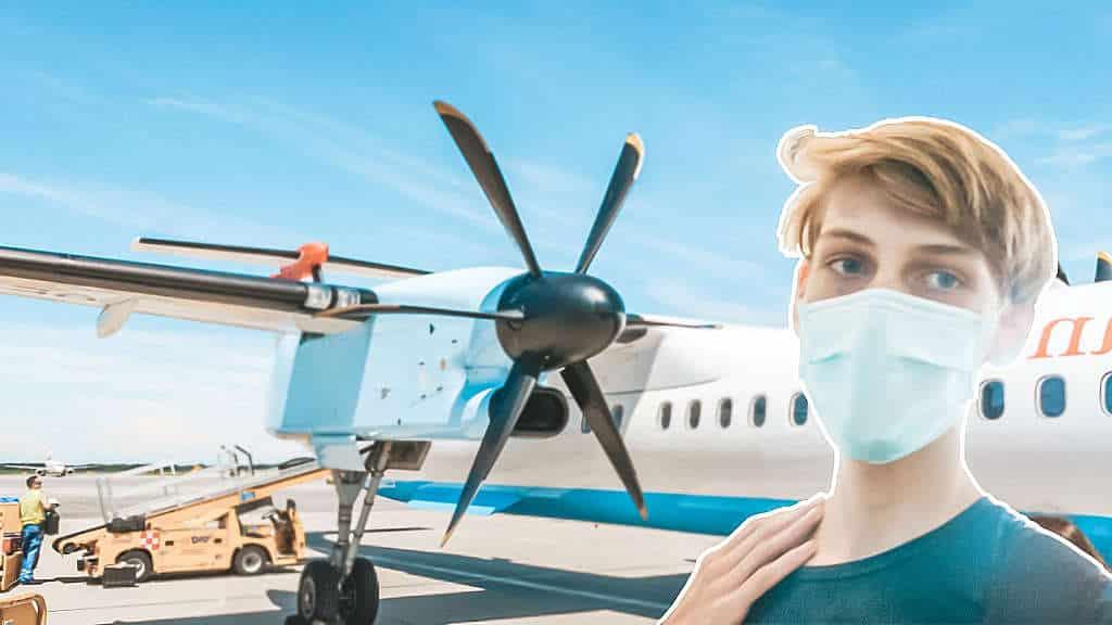 Fliegen während Corona! Austrian Airlines Business Class