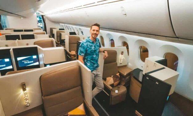 Etihad Business Class 787-10 NGO-PEK-AUH