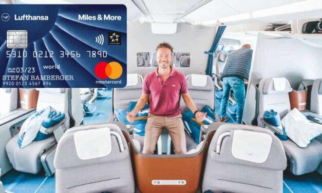 Willkommensbonus! 4.000 Meilen mit der Miles & More Kreditkarte Blue