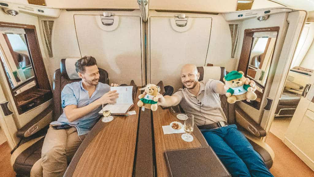 Singapore Airlines First Class Suites A380 SYD-SIN