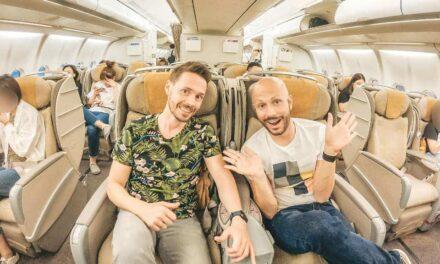 Von Peking über Seoul nach Shanghai – Asiana Business Class